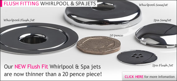 Pegasus Whirlpool Baths - Spa Flush Jets